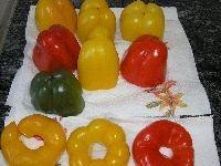 zubereiten der Peperoni